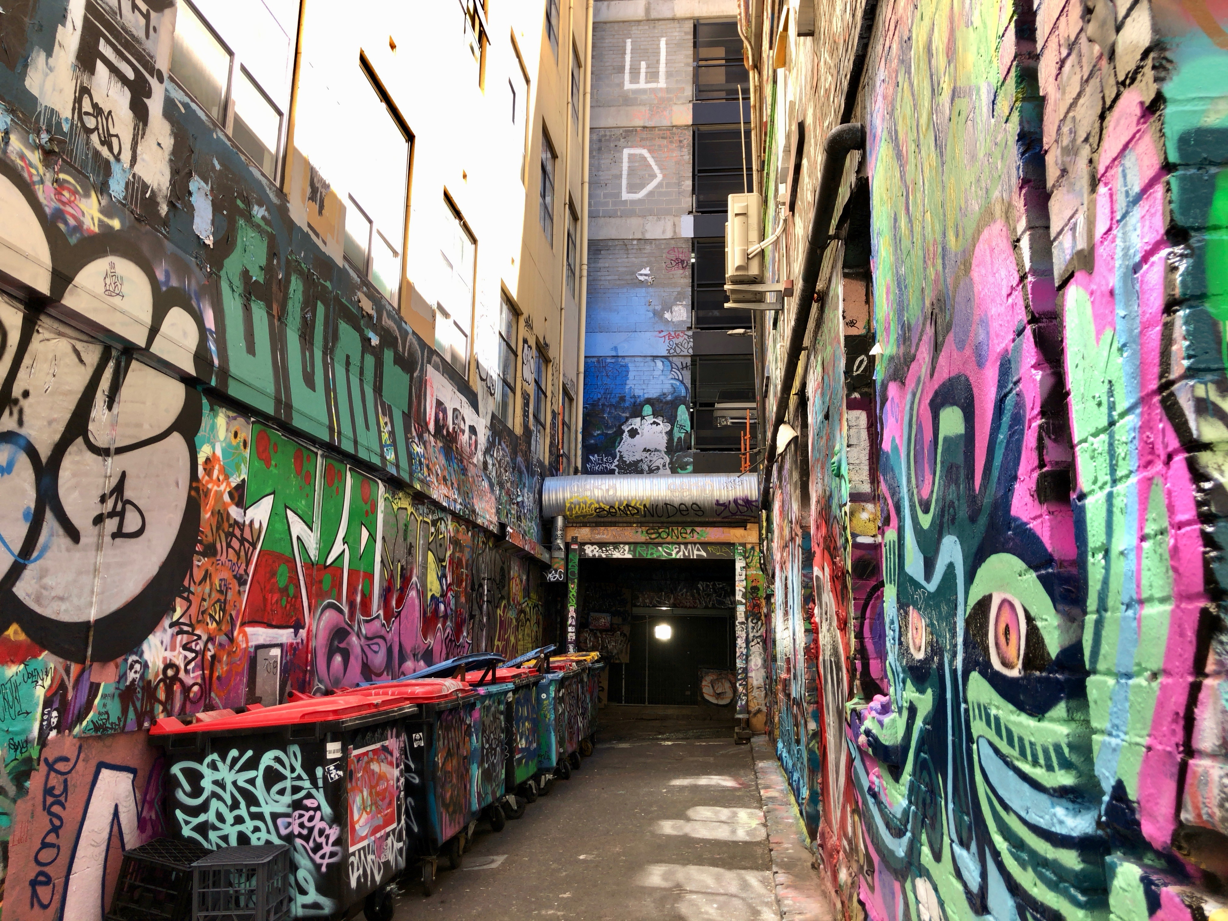 メルボルン,中心,オーストラリア,一人旅,女性,ホイザーレーン