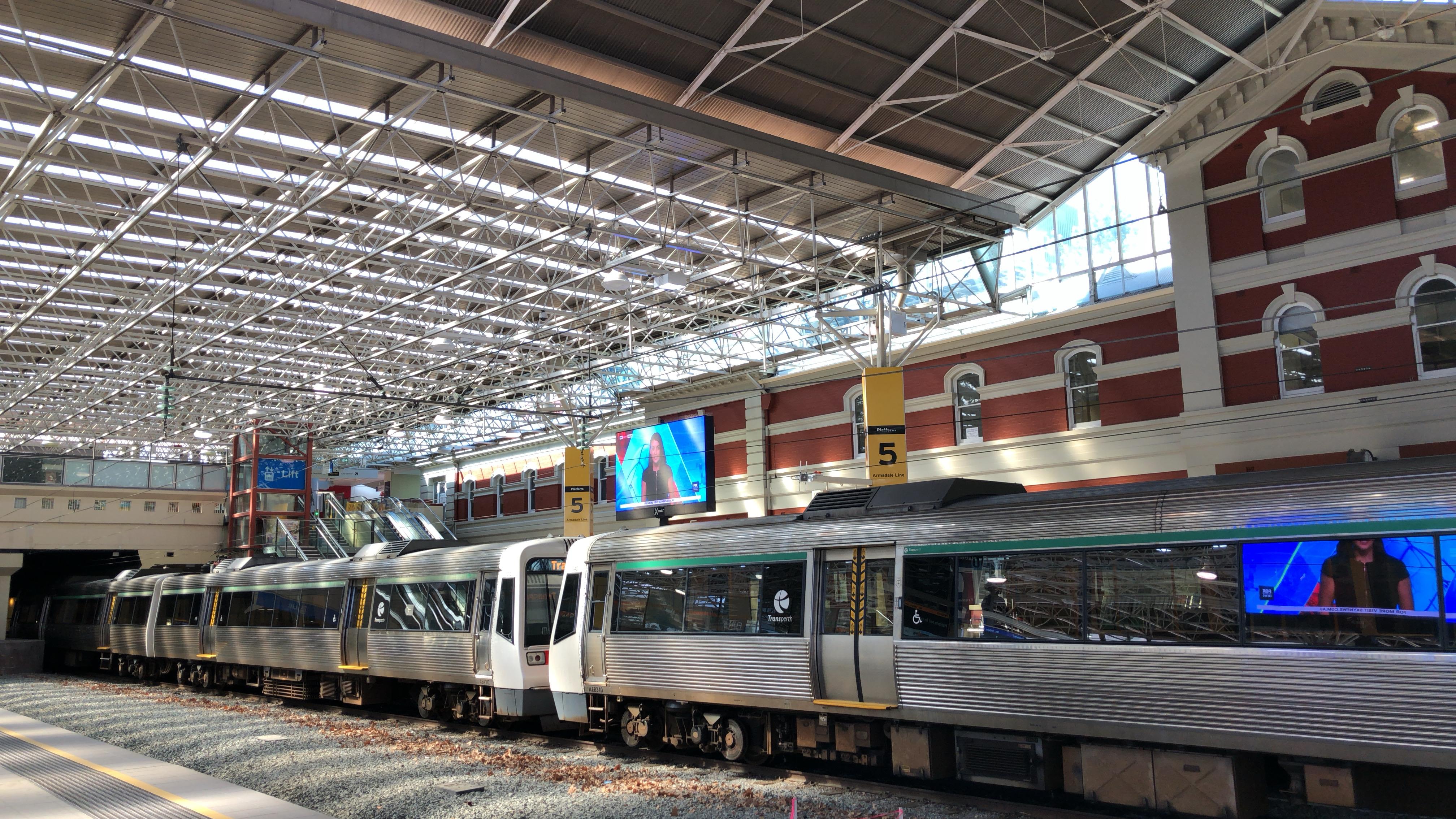オーストラリア,一人旅,パース,電車,フリーマントル