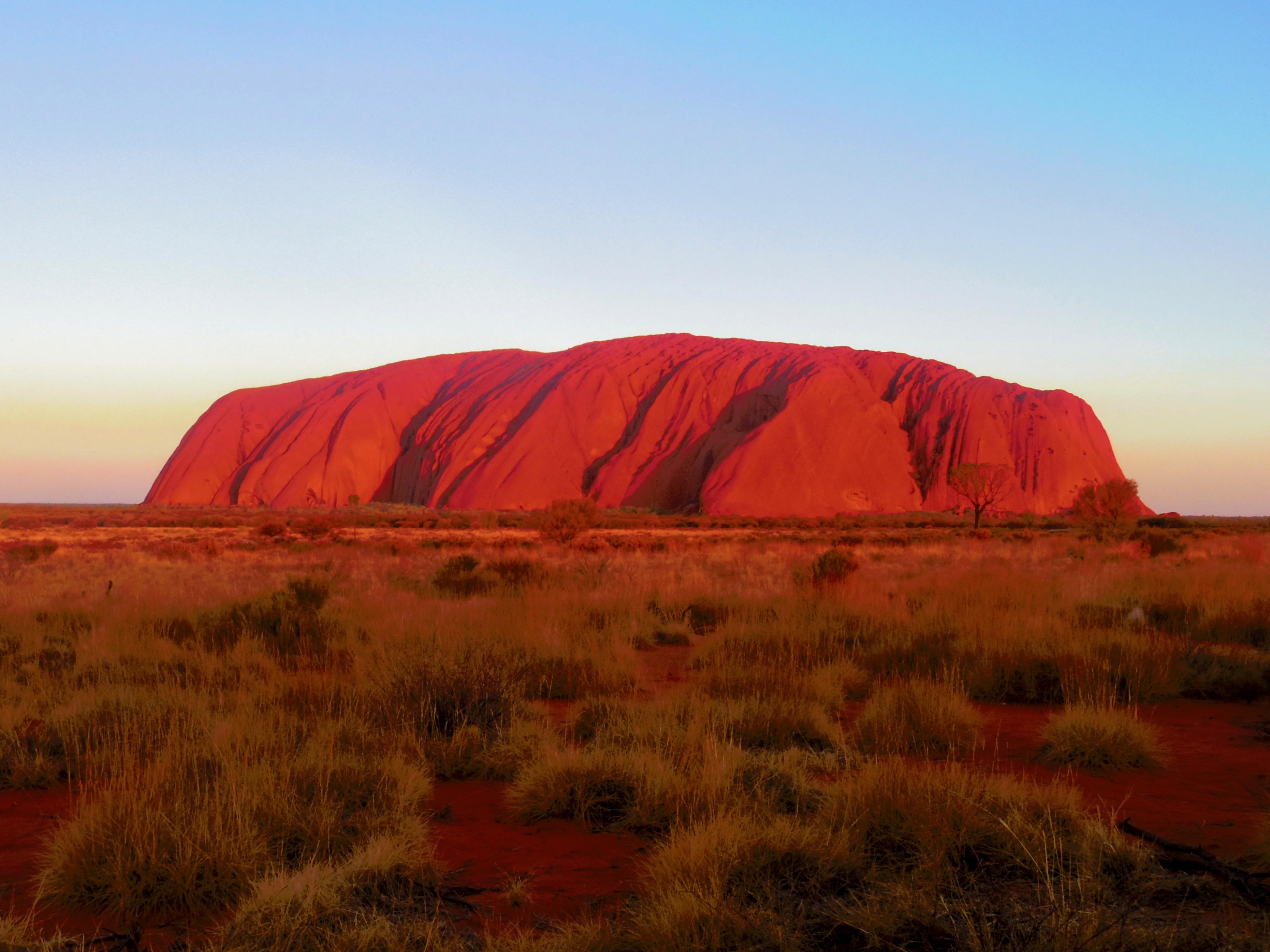 オーストラリア,エアーズロック,一人旅,ウルル,登山,最終日