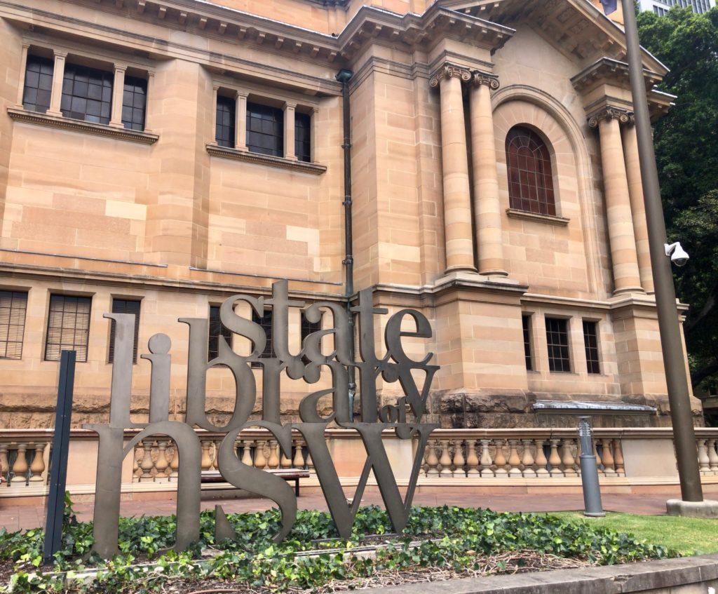 オーストラリア,シドニー,図書館,ニューサウスウェールズ州立図書館