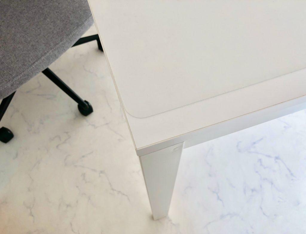 IKEA,テーブル,作業 椅子,melltorp,デスクマット